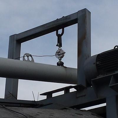 Cement schroefweegsysteem