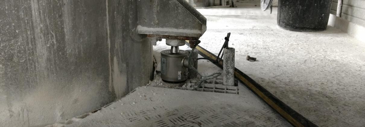 Vervanging van oude loadcellen door nieuwe loadcellen